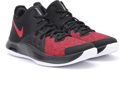 Nike NIKE AIR VERS Basketball Shoes For Men(Red, Black) 1