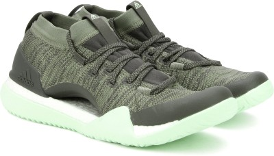 ADIDAS PUREBOOST X TRAINER 3.0 Training & Gym Shoes For Women(Olive) at flipkart