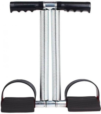 Gjshop Double Spring Tummy Trimmer-Abs Exerciser-Waist-Trimmer (Black) Ab Exerciser(Black)