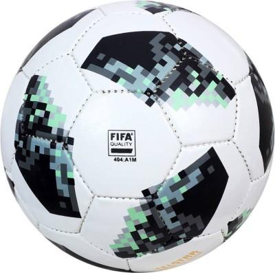 oms telesta Football   Size: 5 Pack of 1, White