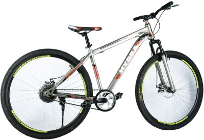 Hydra WARRIOR Disc Brake Bike For Adults Grey 27.5 T Mountain Cycle(Single Speed, Multicolor)