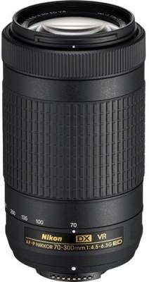 Nikon AF-P DX NIKKOR 70 - 300 mm f/4.5 - 6.3G ED VR  Lens(Black, 18 - 200mm Comparable 35mm Equivalent on DX Format Focal Length: 27 - 300 mm) 1