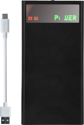 Lionix 20000 mAh Power Bank (4 Port, Big Display)(Black, Lithium-ion)