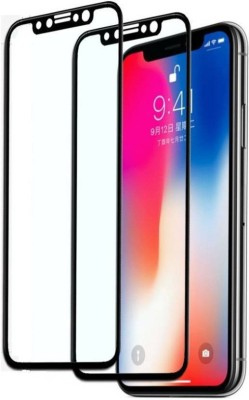 COMORO Tempered Glass Guard for Apple iPhone X(Pack of 1)