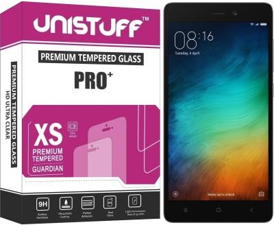Unistuff Tempered Glass Guard for Mi Redmi 3S, Mi Redmi 3S Prime, Mi Redmi 3S Plus(Pack of 1)