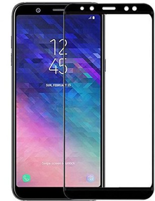 Novo Style Tempered Glass Guard for Samsung Galaxy A6 Plus (2018) 5D Touch 9H Hardness Anti-Fingerprint(Pack of 1)