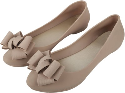 IRSOE Cassiey Latest Collection, Comfortable & Fashionable Bellies Women's Girl's Ballet Flats/Ballerinas ( Cream) Bellies For Women(Beige)
