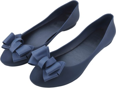 IRSOE Cassiey Latest Collection, Comfortable & Fashionable Bellies Women's Girl's Ballet Flats/Ballerinas (Navy Blue) Bellies For Women(Navy)