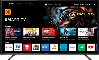 Image of Kodak 50 inch Ultra HD 4K Smart LED TV which is one of the best tv under 50000