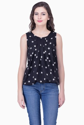 Marie Lucent Casual Sleeveless Printed Women