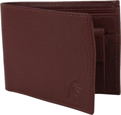 Rosset Men Casual Brown Artificial Leather Wallet 3 Card Slots