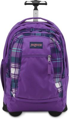 JanSport Driver 8 Wheeled Backpack 36 Trolley Laptop Backpack(Purple)