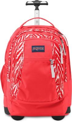 JanSport Driver 8 Wheeled Backpack 36 Trolley Laptop Backpack(Orange)