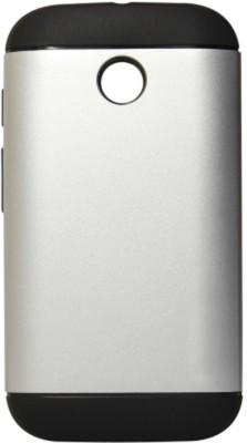 G.V.C. Back Cover for Motorola Moto E  1st Gen  Silver