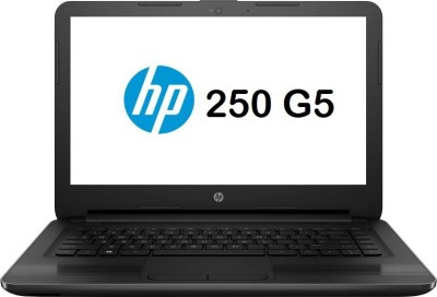 HP 250 G5 Celeron Dual Core 5th Gen – (4 GB/500 GB HDD/DOS) 250 G5 Laptop(15.6 inch, Black)