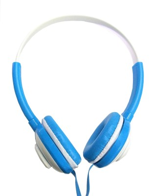 Logitech h150-Blue Wired Headset with Mic(Blue, On the Ear)