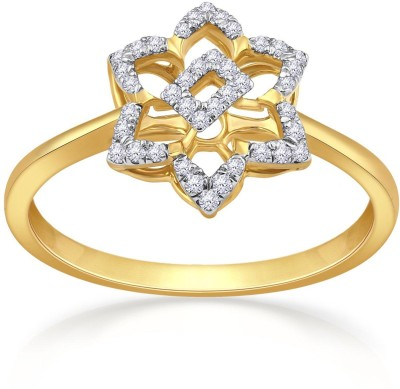 Malabar Gold and Diamonds UIRG01682 18kt Diamond Yellow Gold ring