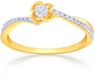 Malabar Gold and Diamonds ASRAJR24475 18kt Diamond Yellow Gold ring