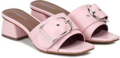 Chemistry Women Pink Heels at flipkart