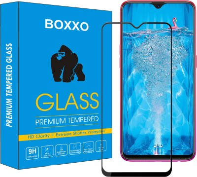 Boxxo Edge To Edge Tempered Glass for Oppo F9, OPPO F9 Pro, Realme 2 Pro, Realme U1, Realme 3 Pro(Pack of 1)
