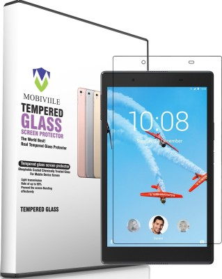 """MOBIVIILE Tempered Glass Guard for Lenovo Tab 4 8 (8.0\"""" Inch Screen Size) (TB-8504x)(Pack of 1)"""
