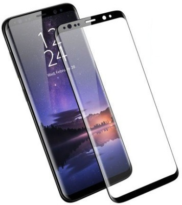 the best choice Tempered Glass Guard for Samsung Galaxy S9 5D Curved Color Glass/5D Tempered glass/ Edge to Edge 5D Anti -Scratch Glass/Screen Protector (BLACK)
