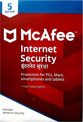 McAfee Internet Security 5.0 User 1 Year(CD/DVD)