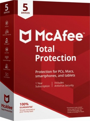 McAfee Total Security 5 User 1 Year(CD/DVD)