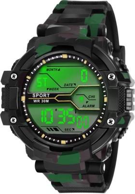 fadiso fashion FF01014-BK BLACK Digital Sports Digital Watch  - For Boys