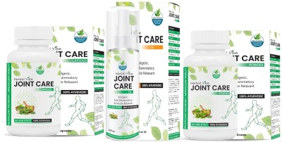 Herbal Vibe Joint Care Combo (Powder, Oil, Capsules) Capsules(220 g)