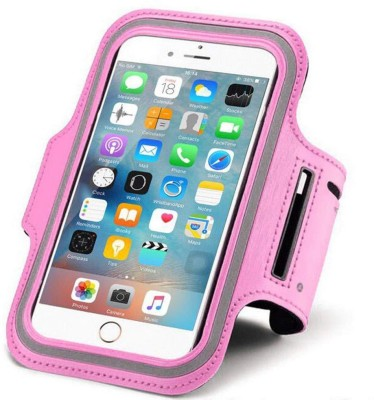 House of Quirk Arm Band Case for Mobile pouch(Pink, Waterproof)