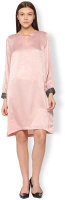 Van Heusen Women Sheath Pink Dress