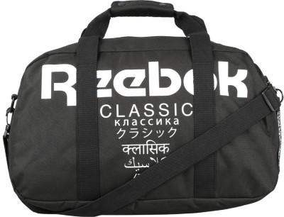REEBOK CL DUFFLE INTERNATIONAL Travel Duffel Bag(Black) at flipkart