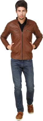 Leinwand Full Sleeve Self Design Men Jacket at flipkart