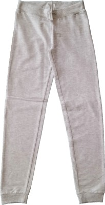Hugs   Hearts Track Pant For Girls Grey, Pack of 1