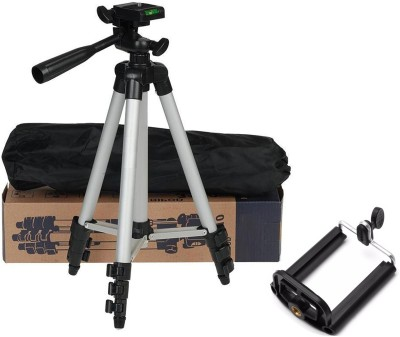 BUY SURETY Premium Quality Tripod Stand 360 Degree 3110 Portable Digital Camera Mobile Stand Holder Camcorder Tripod Stand Lightweight Aluminum Flexible Portable Three-way Head Compatible Tripod Mobile Holder