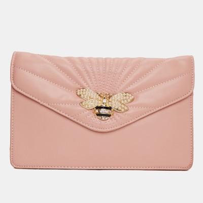 Miss CL Pink Sling Bag at flipkart