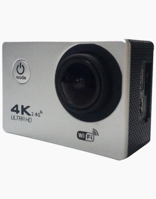 OWO F60R 4K WiFi Waterproof with Remote Control Sports and Adventure Camera Sports and Action Camera(Silver 16 MP) 1