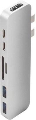 HyperDrive GN-28B- Space Grey USB Adapter(Space Grey) at flipkart