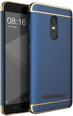 Cafune Back Cover for Mi Redmi Note 3(Blue, Dual Protection, Plastic)