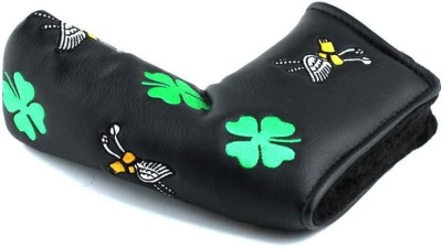 Golfoy Lucky Clover Blade Putter Club Cover Free Size(Multicolor)