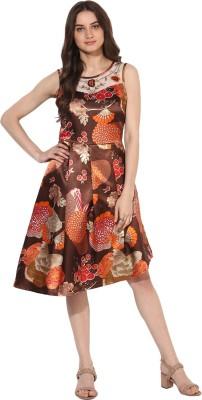 Raaika Women A-line Multicolor Dress