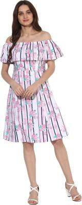Heather Hues Women A-line Multicolor Dress