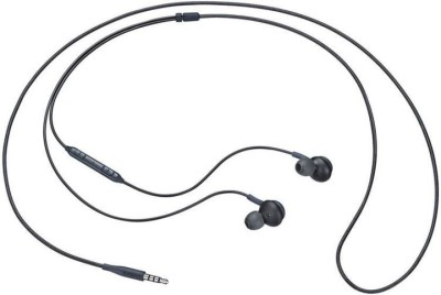 DILURBAN Hi-Fi Sound Earphone For akg Compatible All Andriod Smartphone Wired Headset with Mic(Black, In the Ear)
