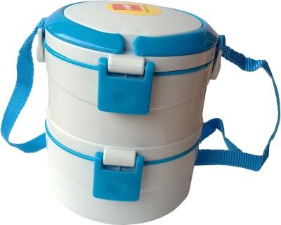 Cello Merit 2 Blue 2 Containers Lunch Box(500 ml)
