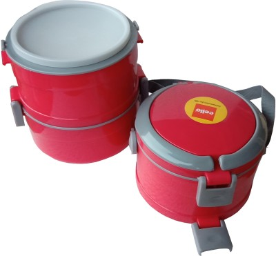 Cello Mate 3 Containers Lunch Box(900 ml)