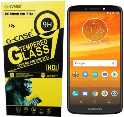 Tempered Glasses Edge To Edge Tempered Glass for Motorola Moto E5 Anti-Blue Light Guard(Pack of 1)