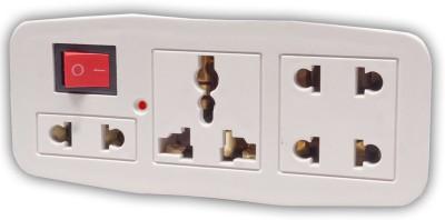 Girish Universal World Wide Travel Power Plug Adapter 2pin  15 A Three Pin Socket