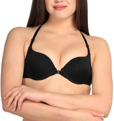 Secret Wear Women Push-up Bra(Black) at flipkart