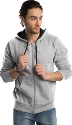 Top Notch Full Sleeve Solid Men Sweatshirt